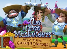 60 Free Spins on 'The Three Musketeer' Welcome Package