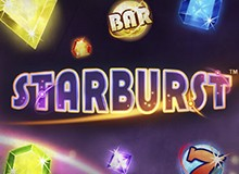 120 Free Spins on 'Starburst' Welcome Package