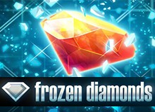 $/€5 Free Play on 'Frozen Diamonds' Welcome Package