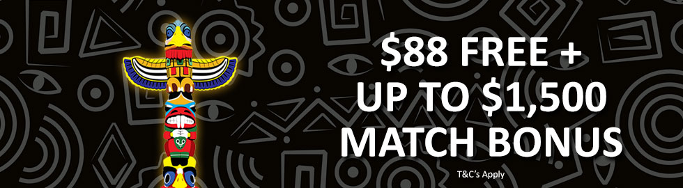 $88 Free + Up To $1,500 Match Bonus