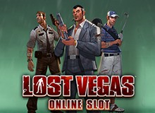 12 Free Spins on 'Lost Vegas' Welcome Package