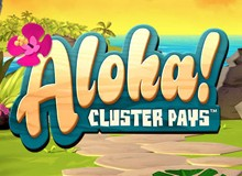 100% Match Bonus + 30 Free Spins on 'Aloha'