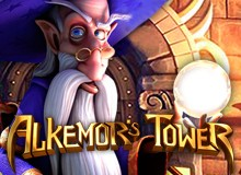 More Than $1,000 Bonus + 50 Free Spins on 'Alkemor's Tower'