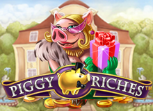 200% Match Bonus + 100 Free Spins on 'Piggy Riches'