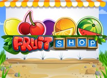 200% Match Bonus + 100 Free Spins on 'Fruit Shop'