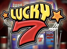 200% Match Bonus + 100 Free Spins on 'Lucky 7'