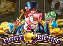 $/€2,000 Match Bonus + 200 Free Spins on 'Piggy Riches'