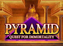 200% Match Bonus + 100 Free Spins on 'Pyramid'