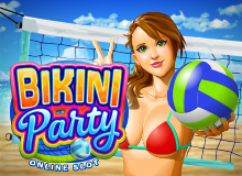 40 Free Spins on 'Bikini Party' Welcome Package
