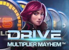 200% Match Bonus + 100 Free Spins on 'Drive'