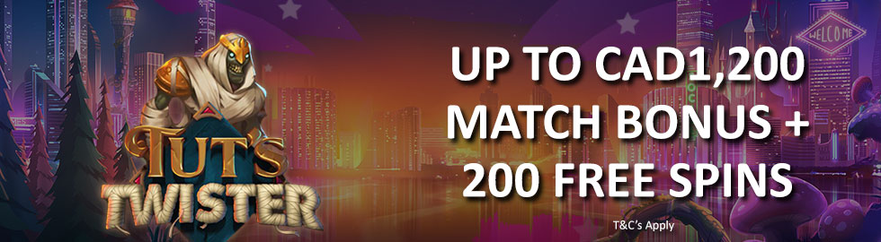Up To $1,200 Match Bonus + 200 Free Spins