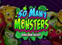Up To 50 Free Spins on 'So Many Monsters' Welcome Package