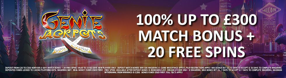 Genting Casino Welcome Package Offer