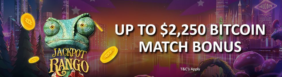 Up To $2,250 Bitcoin Match Bonus