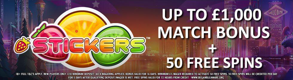 Vegas Hero Welcome Package Offer