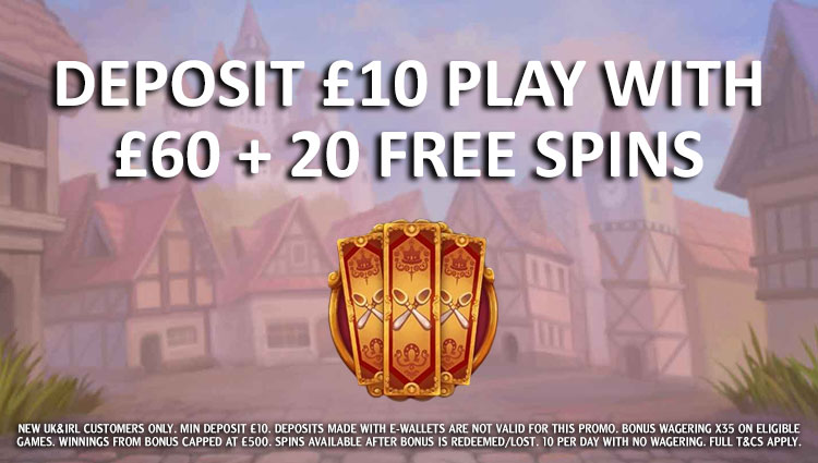betfair Casino Welcome Package Offer