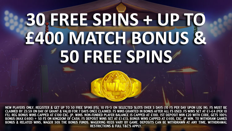 Wink Slots Welcome Package Offer