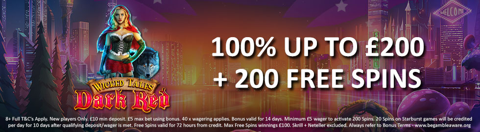 Casino Joy Welcome Package Offer