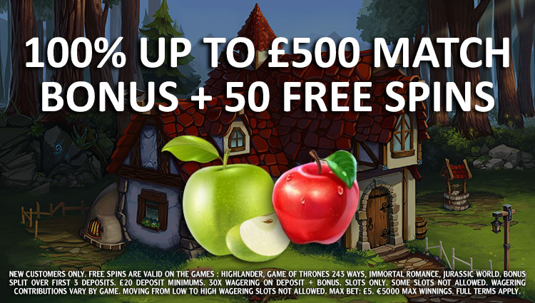 bCasino Welcome Package Offer
