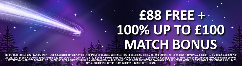 888Casino Welcome Package Offer