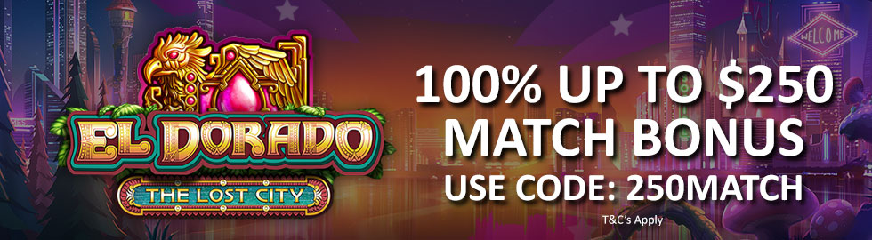 100% Up To $250 Match Bonus sugar house