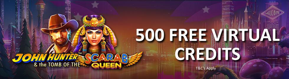 500 Free Virtual Credits
