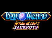 Blue Wizard Fire Blaze